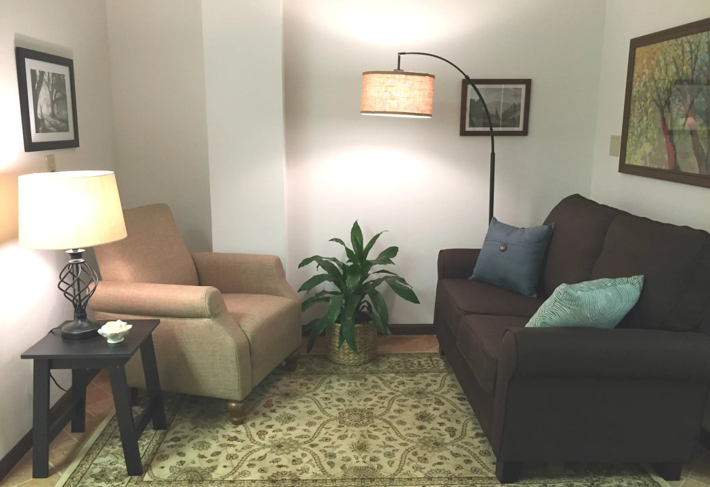 therapy room bright