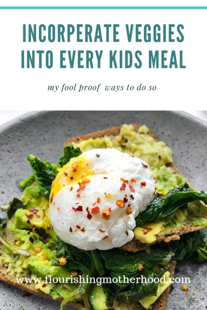 veggies into every kids meal