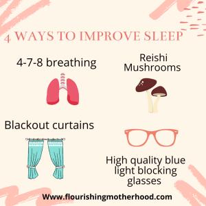 4 ways to improve sleep