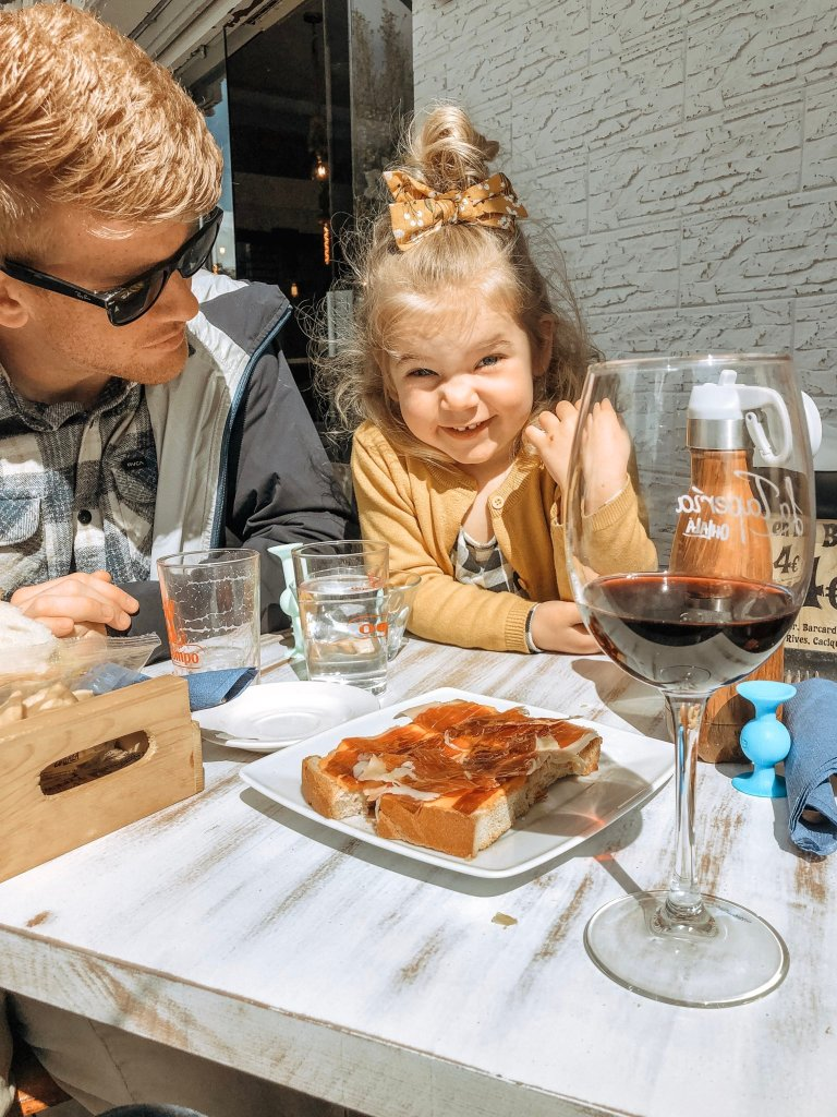 traveling Spain with kids