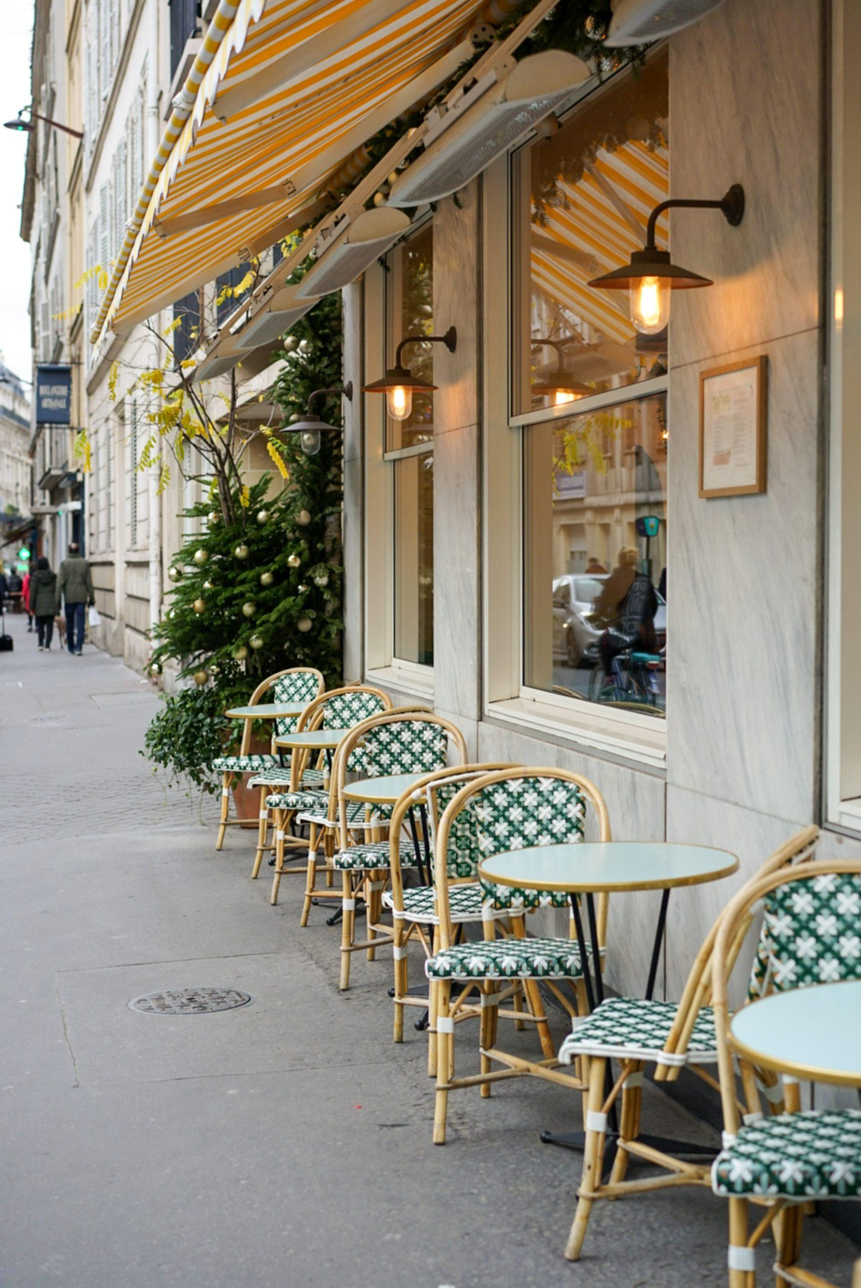 french bistro chairs with classic and