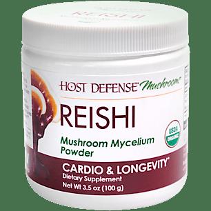 Organic Reishi Mushroom Mycelium Powder (66 Servings)