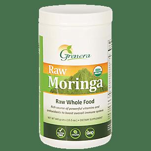 Raw Moringa Certified Organic