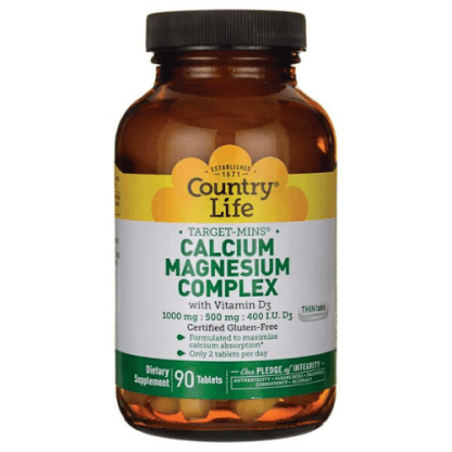 country life vegan calcium magnesium bottle