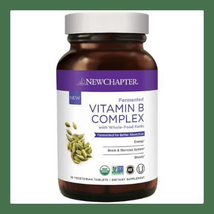 new chapter vegan vitamin b-complex bottle