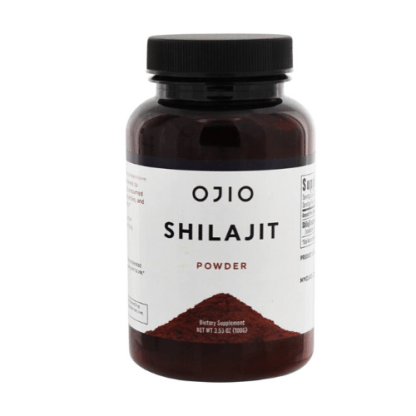 ojio raw shilajit powder container