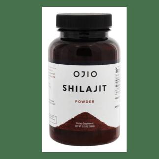 ojio raw shilajit powder container