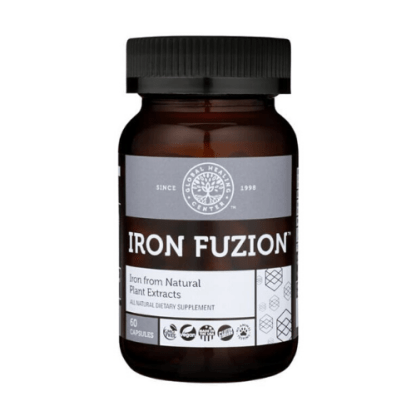 global healing center vegan iron fuzion bottle