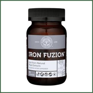 global healing center vegan iron fuzion bottle