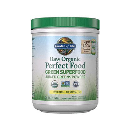 Garden Of Life Raw Organic Perfect Food Green Superfood Juiced Greens Powder