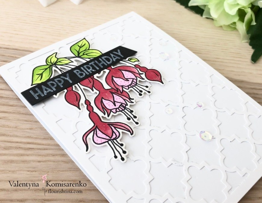 ATSM #336, white texture background card