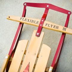 Kids Tv Chair Cherner Side Vintage Sled {$35} | Flourishvintage