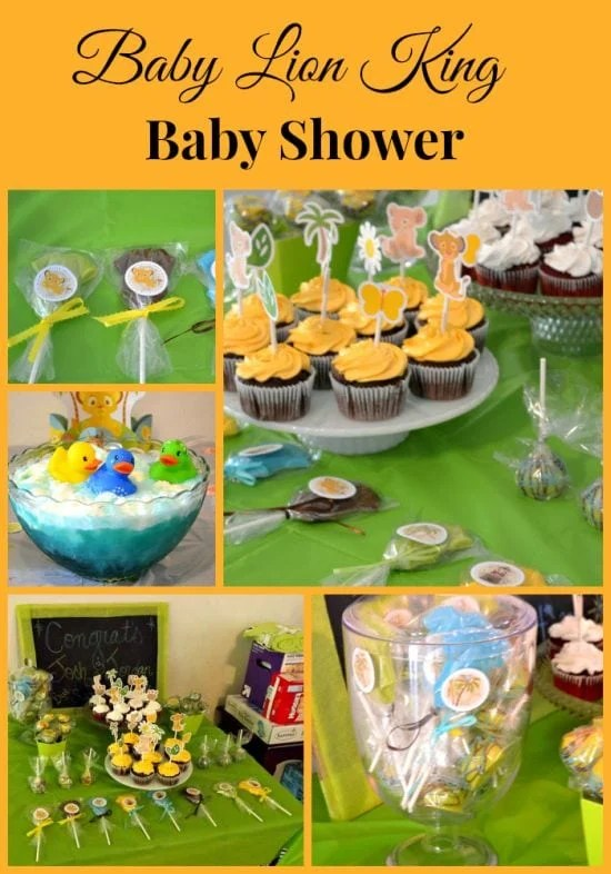 Lion King Baby Shower : shower, Shower-Flour