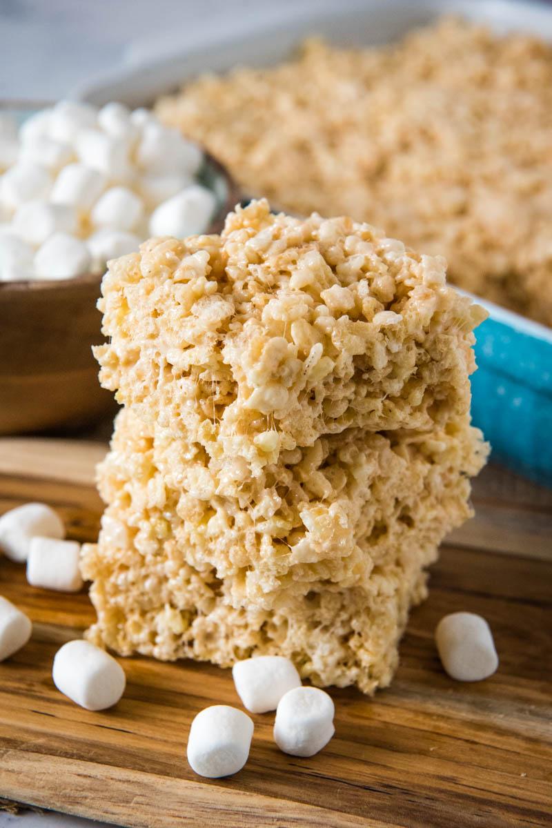 microwave rice krispie treats in 5