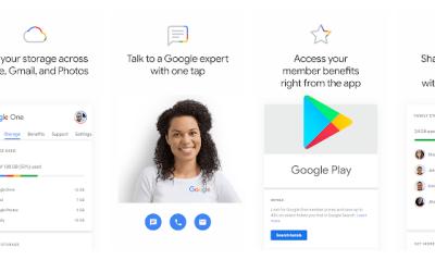 Descubre el nuevo Google One para sacar el máximo provecho a Google