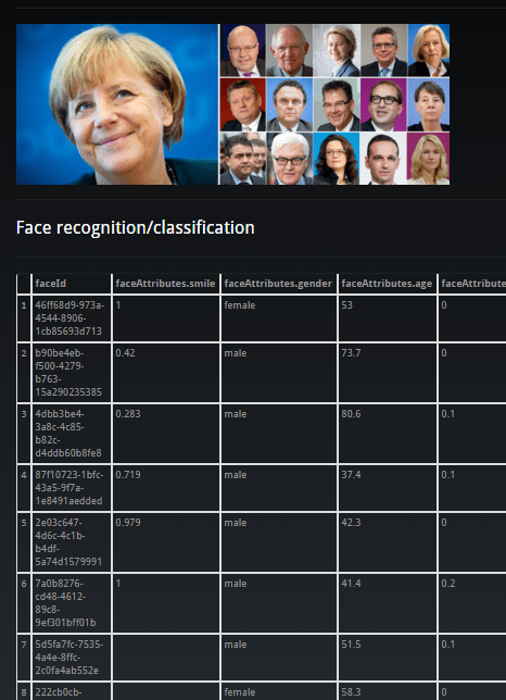 Detecting German Government