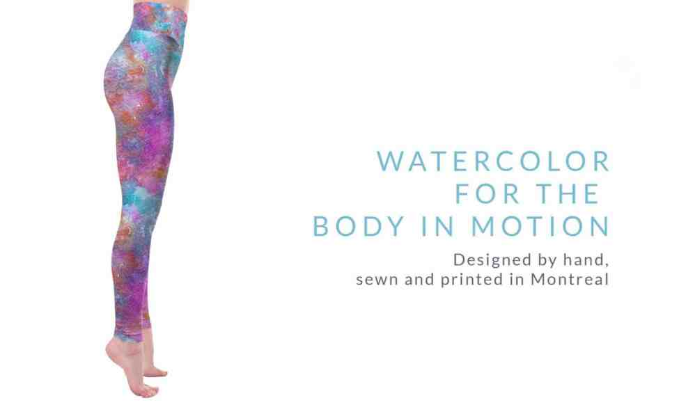 Watercolor for the body in motion