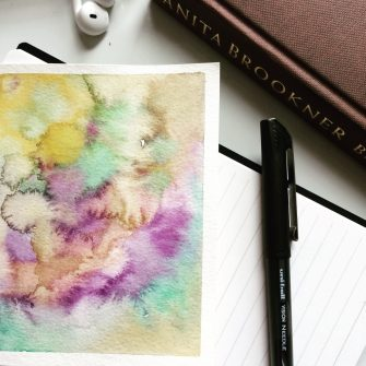 Watercolor Texture for leggings