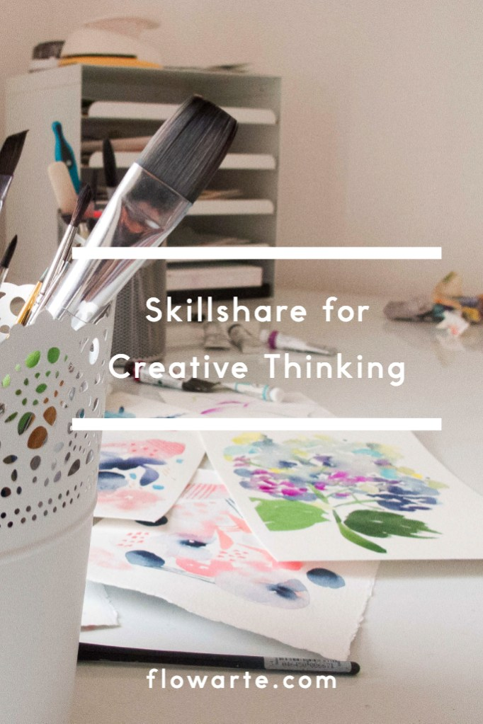 Skillshare for Creative Thinking Pin for Later
