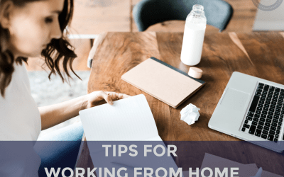 Transcript 038 – Tips for Working from Home