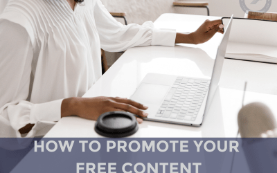 How to Promote Your Free Content