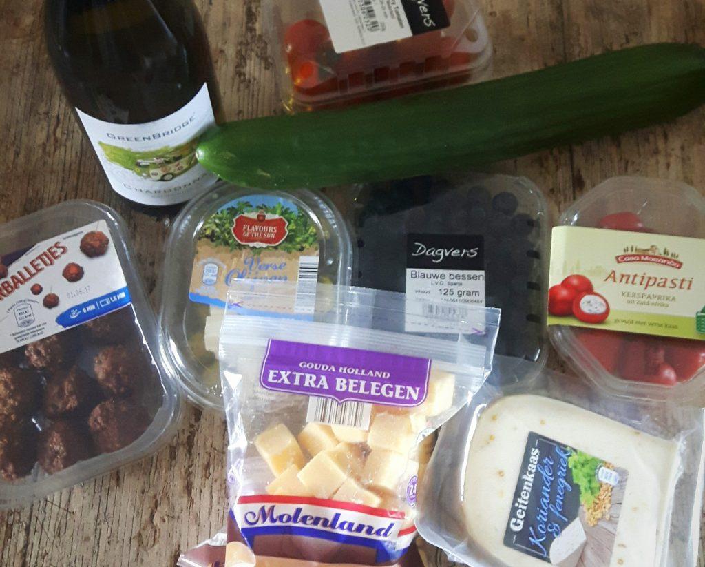 Koolhydraatarme picknick - flowcarbfood.nl