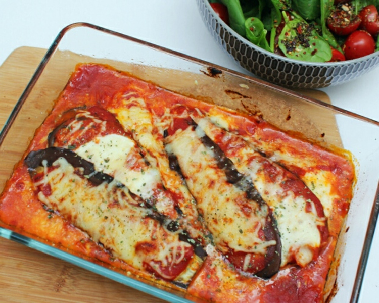 koolhydraatarme aubergine parmesan2