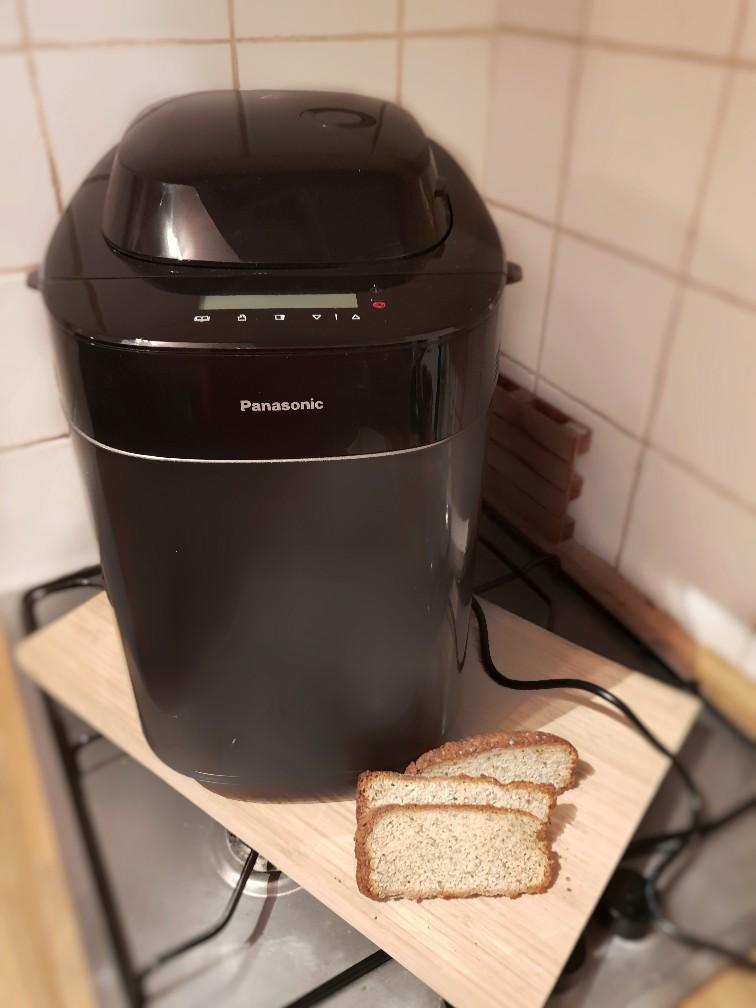 Broodbakmachine koolhydraatarm brood
