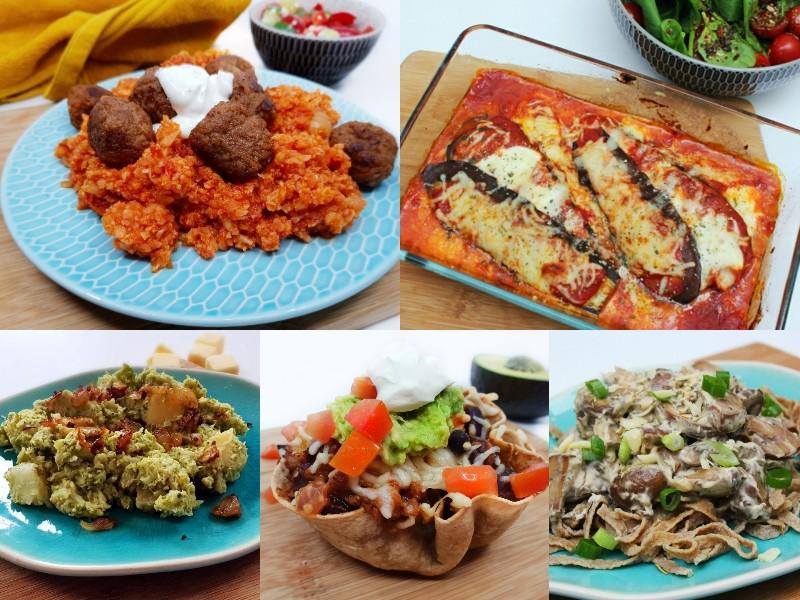 koolhydraatarm vegetarisch