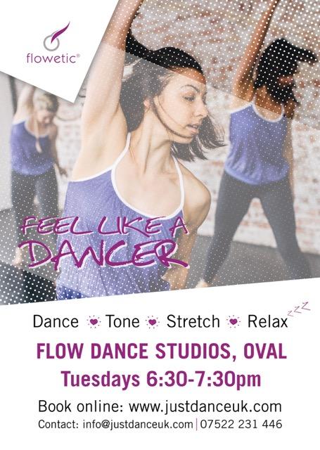 Flow Dance Poster