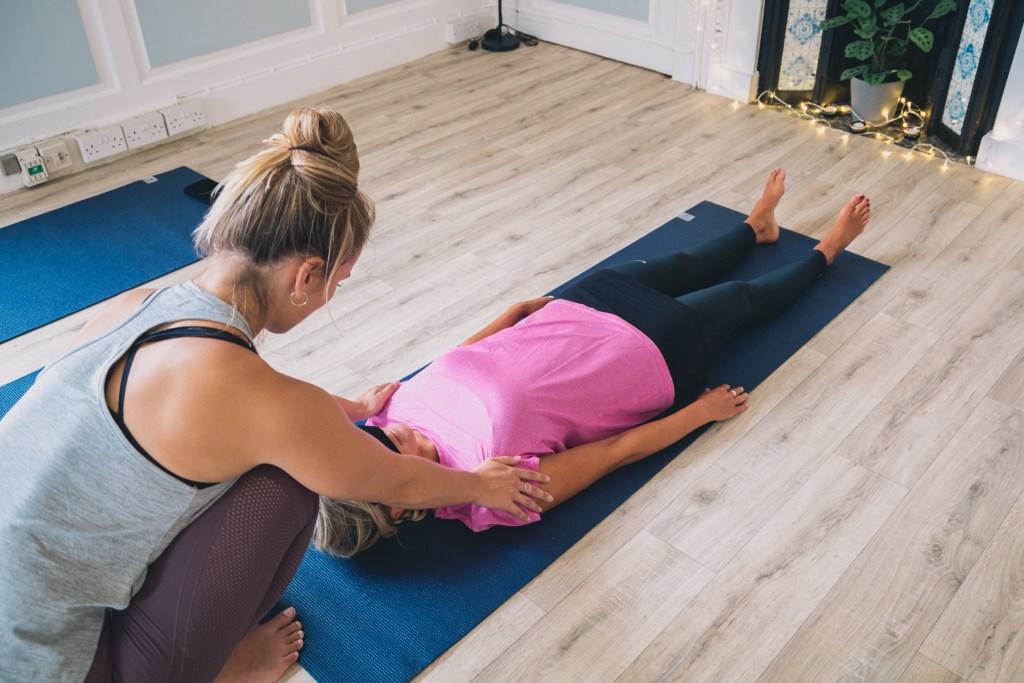 Yoga Unwind class