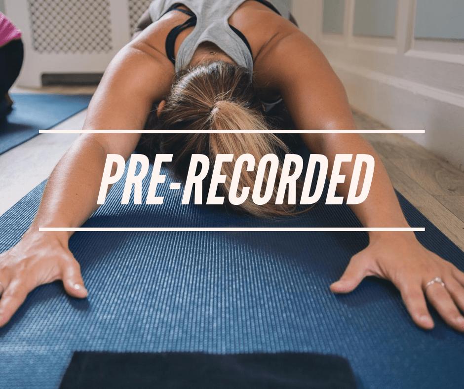Pre-recorded