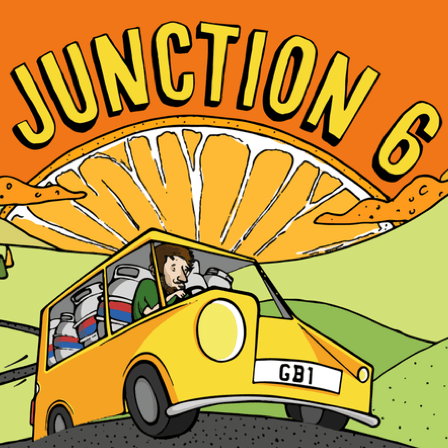 Junction 6 Pale Ale - 4.2% (500ml Bottle)