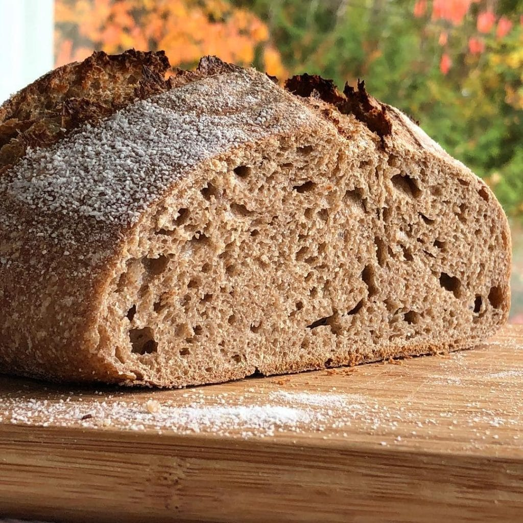 Soft Grain Sourdough Bread