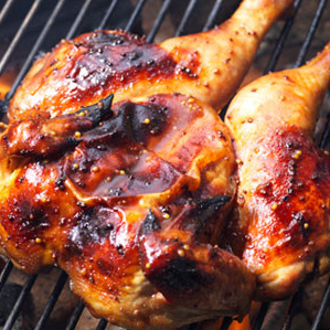 Whole Butterfly Chicken (Seasoned with Smokey BBQ Sauce)