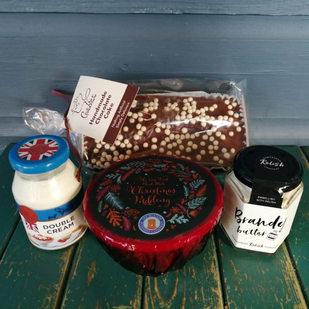 Xmas Pudding & Dessert Box