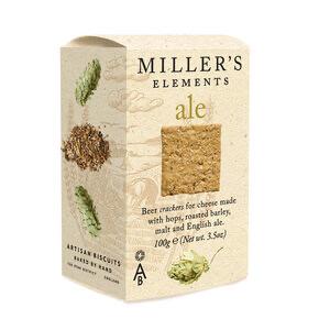Miller's Elements Ale Crackers