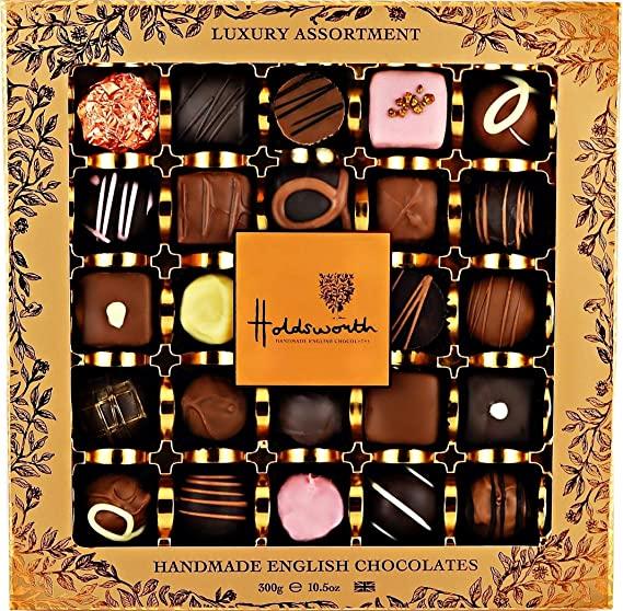 HOLDSWORTH LUXURY BOX OF HANDMADE CHOCOLATES (300G)