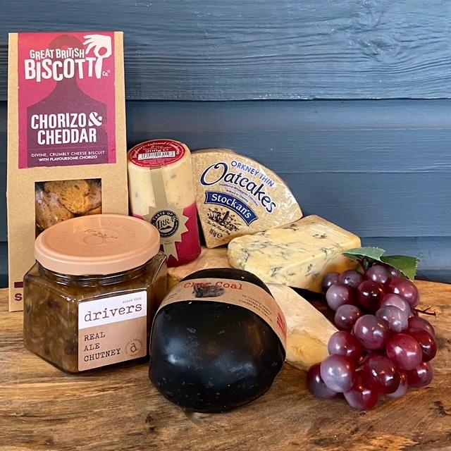 Indulgent Christmas Cheese Box