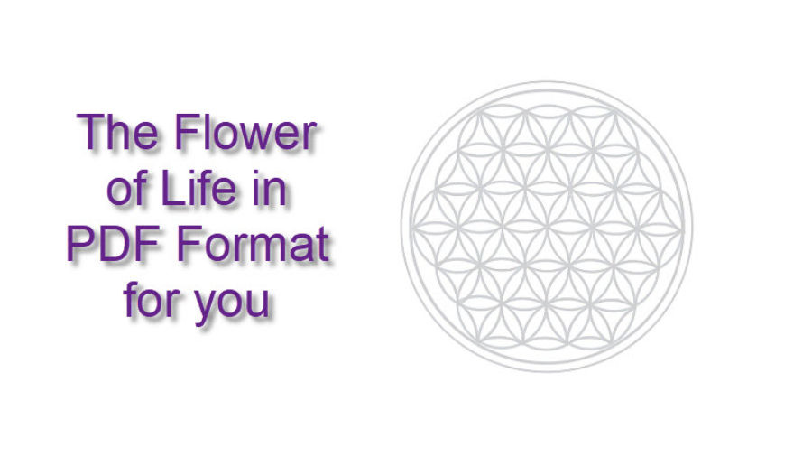 print out flower of