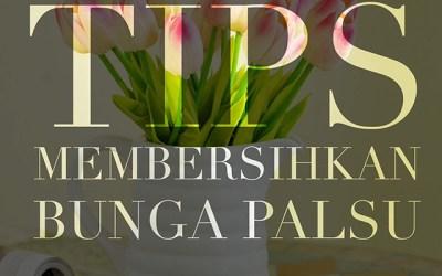 Tips Membersihkan Bunga Plasu