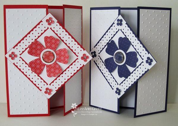 Gate Fold Card Flowerbug's Inkspot