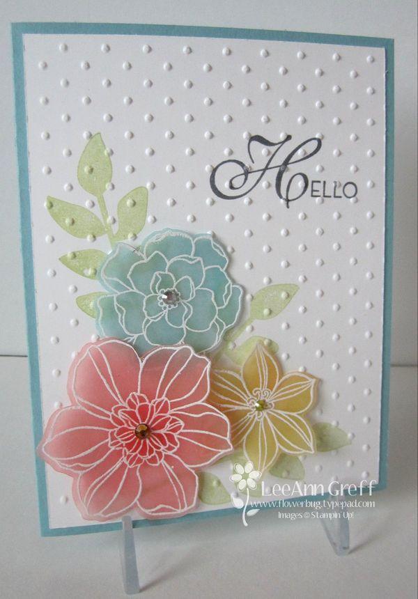Vellum & Secret Garden Flowerbug's Inkspot