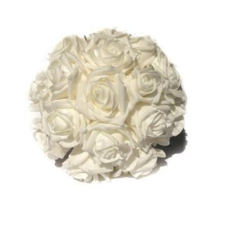 Blanc Artificial Bride Bouquet
