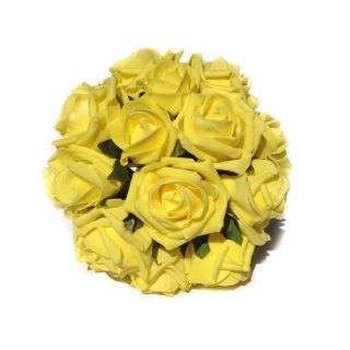 Sunshine Artificial Brides Bouquet