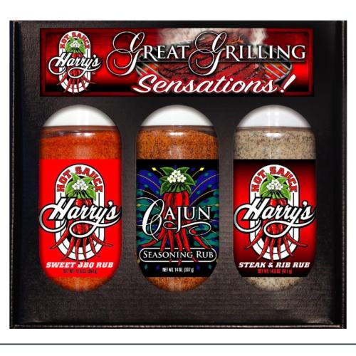 Hot Sauce Harry's Boxed Rubs