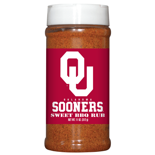 Oklahoma Sooners Sweet BBQ Rub