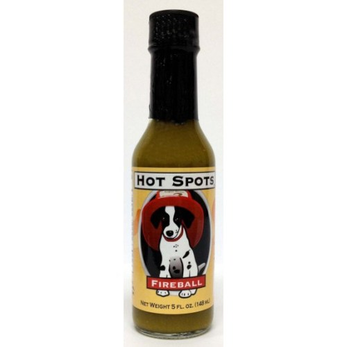 CaJohns Hot Spots Fireball Hot Sauce