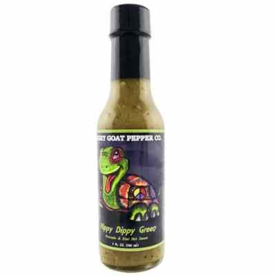 Angry Goat Pepper Co. Hippy Dippy Green Hot Sauce