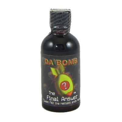 Da Bomb Final Answer Hot Sauce